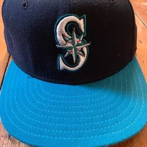 Seattle Mariners New Era Fitted Hat